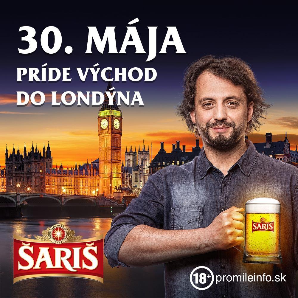 30. mája príde východ do Londýna!
