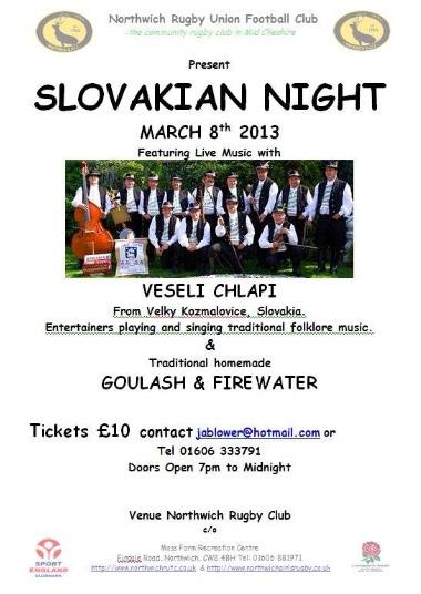 Slovenská noc/folklór