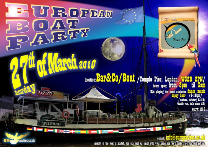 European Boat Party